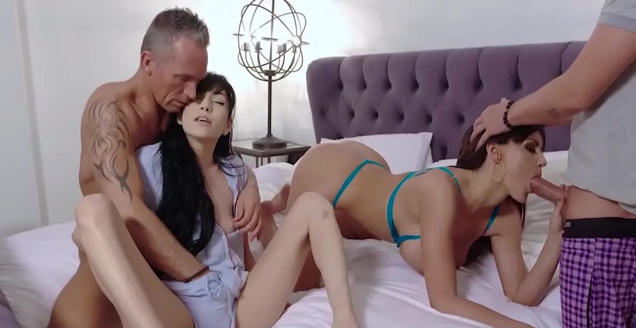 Семья порно
